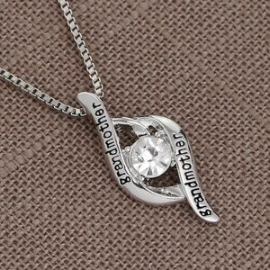 Grandmother Silver Necklace